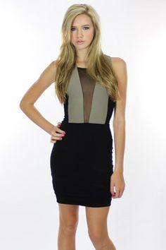 Donna Mizani Pretty Girl Mini Dress in Black - On Sale!