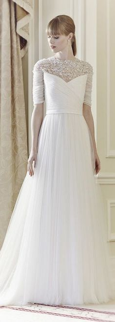 I got to try this on on a Bridal Trunk Show and it's amaaaazing! Jenny Packham Bridal Collection 2014 - Mary