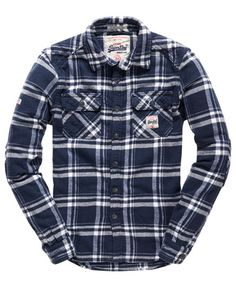 Superdry Chemise Milled Flannel