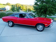 Don't care about having this now in life, but I had always, ever since I was a teenager, wanted a '68 Chevelle SS in CandyApple Red.