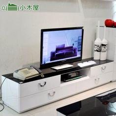 Livraison gratuite combinaison tv armoire lumière peinture blanche moderne classique dans Armoires en verre de Meubles sur AliExpress.com   Alibaba Group