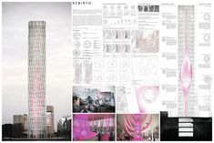 """ REBIRTH "" - Tokyo Vertical Cemetery competition finalist"