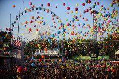 Sziget Music Festival Balloons