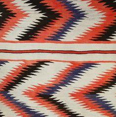 Native American textiles at Medicine Man.