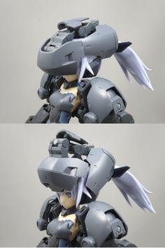 埋め込み Character Art, Character Design, Woman Mechanic, Sci Fi Anime, Robots Characters, Frame Arms Girl, Lego Mecha, Gundam Art, Fantasy Armor