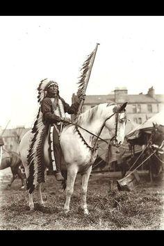 Lakota Chief Iron Tail
