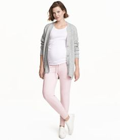 MAMA Joggers | Light pink melange | Ladies | H&M US
