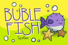 Bubble Fish embodies fun, quirkiness and authenticity. This display font is the perfect fit for all of your logos, branding,. Typography Logo, Logo Branding, Lettering, Logos, Display Font, Bubble Fish, Christmas Fonts, Father Christmas, Logo