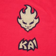 tshirt Lego Ninjago Kai the Red Ninja inspired