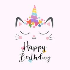 surprise birthday for him Happy Birthday Greetings Friends, Birthday Wishes For Kids, Happy Birthday Wishes Cards, Happy Birthday Pictures, Happy Birthday Sister, Birthday Messages, Birthday Cat Funny, Cat Birthday Cards, Birthday Quotes