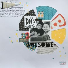 Click image to close this window Layouts, Paper Crafts, Scissors, Boys, Cute, Scrapbooking, Window, Inspiration, Awesome