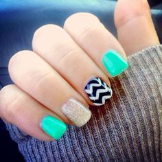Love this manicure. Going to have to get them done!