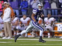 The official photo galleries for the Kansas State University Wildcats Kansas State University, Kansas State Wildcats, Tyler Lockett, Photo Center, Football Helmets, Photo Galleries, Texas, Sports, Excercise