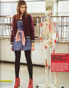 Girls Life Magazine - November 2013 Issue - CoffeeShop Coats
