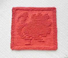 TURKEY Knit Dishcloth . Hand Knitted Unique by AuntSusansCloset, $7.00