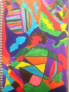 Abstract Art, Grade 5