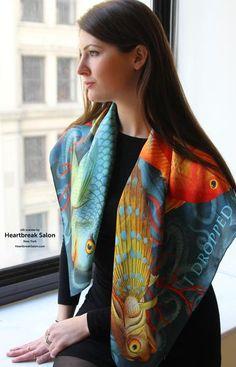 Cashmere Silk Scarf - Autumn sun by VIDA VIDA VnWQPcax