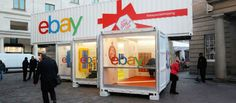 Covent Garden was Ideal for EBAY's Pop Up Promotion