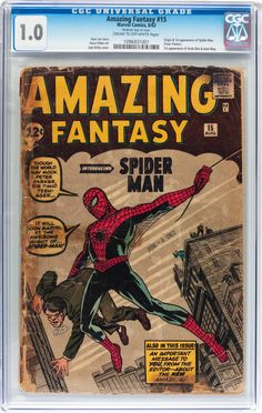 Amazing Fantasy #15 #Marvel 1962