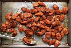 Roasted Carrots with Allspice from Leite's Culinaria