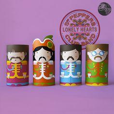 Beatles-Quadrats