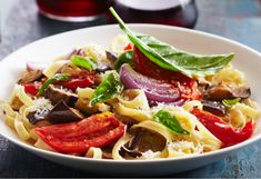 The roasting brings out the rich flavours of the vegetables to create a mouth-watering pasta sauce.