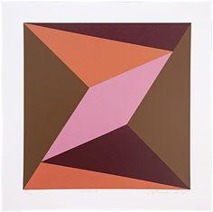 Antonio Peticov, 'Geomatrix 11', 2016, Trapézio Galeria Geometric Painting, Geometric Shapes, Abstract Art, Mandala Art, Retro Poster, Geometry Pattern, Pattern Illustration, Renaissance Art, Painting Patterns