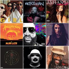 Checking Out These New Albums!  Pharrell - G I R L Method Man - The Johnny Blaze Chronicles Ashanti - Braveheart Major Lazer - Apocalypse Rick Ross - Mastermind Lea Michelle - Louder Kid Cudi - Satellite Flight: The Journey To The Moon Schoolboy Q - Oxymoron Tarrus Riley - Love Situation