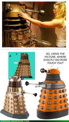 Good touch/bad touch, Dalek edition