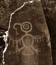 Temani Pesh-wa ………. (Written on Stone) | Thunderbird - photo by Tree Oathe -