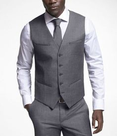 I think 5 button vests need to make a comeback in the office.   -Well don't worry I'ma bring it back!