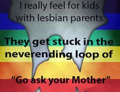 Lesbian jokes and parenting