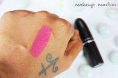 MAC Impassioned Lipstick Swatch Mac Lipstick Swatches, Beauty Corner, Dupes, Fish Tattoos, Makeup, Make Up, Beauty Makeup, Mac Lipsticks, Bronzer Makeup