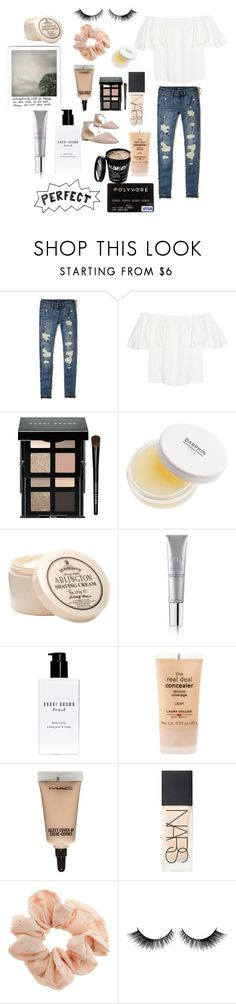 """Midsummers night day"" by stellafab ❤ liked on Polyvore featuring Hollister Co., Valentino, Bobbi Brown Cosmetics, Darphin, D.R. Harris & Co Ltd., Tria, MAC Cosmetics, NARS Cosmetics, Topshop and Franco Sarto"