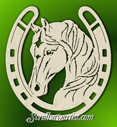 cowboy boots scroll saw patterns  printable horseshoe template