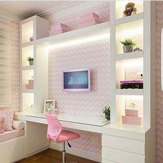 Teen girl bedroom ideas – Home Decor Designs Cute Bedroom Ideas, Girl Bedroom Designs, Girls Bedroom Decorating, Room Ideas For Girls, Kids Bedroom, Girls Bedroom Colors, Decorating Ideas, Bedroom Themes, Trendy Bedroom