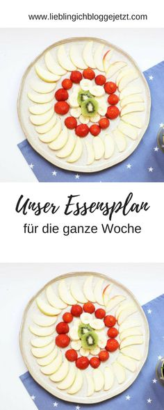 Kochen mit Kindern - ein Essensplan für die ganze Woche mit leckeren selbst gemachten Rezepten/Gerichten und frischen Zutaten Cooking With Kids, Scentsy, Plates, Tableware, Health, Kitchen, Food, Life, Eat Clean Lunches