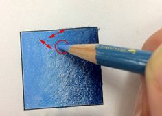 Colored pencils. Basic coloring tips. How to blend two colors of colored pencil together.                                                                                                                                                                                 More