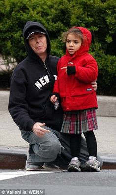 David and Lexi in 2005