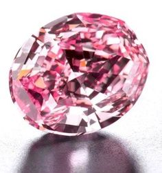 #Steinmetz #Pink #diamond(59.60 carats) of pink color which name comes from Steinmetz Diamond Group the company that produced it still the owner.The rough diamond was discovered in South Africa.The finished diamond was presented to the public in2003in Monaco of Bavaria worn by supermodel H.Christensen.Shortly after the diamond was exposed for a few months at the Smithsonian Institute in Washington.Its market value is not known, but it has been shown around $ 100 million.