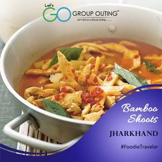 #LipSmacking Bamboo shoots of #Jharkhand #GroupOuting #GoGroupOuting