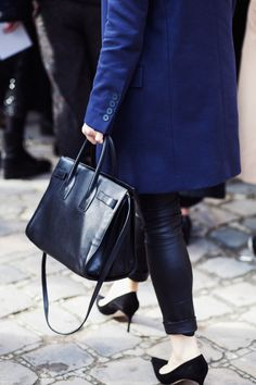 735ac24298 Check out our best handbag photos from the streets of Paris Fashion Week  Fall 2014