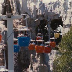Vintage Photo of the Disneyland Gondolas #disney #vintagedisney #vintage #vintagephoto #disneyland #waltdisney