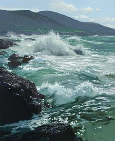 Peter Ellenshaw - Afternoon Tide; unrivaled dream maker and a helluva wonderful guy. No one does it better than he did.
