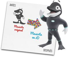 Juan Orca in the nicest killer-not whale in the ocean, by JM Productions. Jm Productions, Smurfs, Whale, Ocean, Studio, Fictional Characters, Art 3d, Pets, Whales