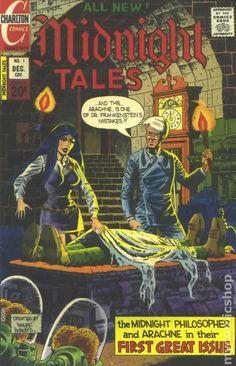 MIDNIGHT TALES 1, CHARLTON COMICS