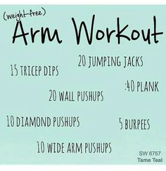 Arm workout Arm Toning Exercises, Tricep Dips, Back Day, Toned Arms, Weight Loss Inspiration, Jumping Jacks, Hair Health, Gym Time, Biceps