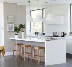 Cocinas en color Blanco | Interiores