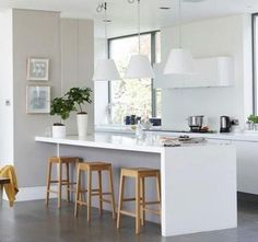 Cocinas en color Blanco | Interiores