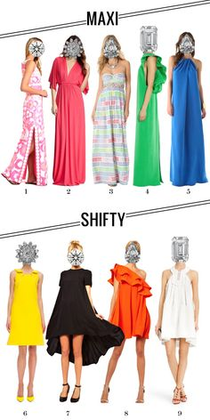 MAXI // SHIFTY picks by MRS LILIEN